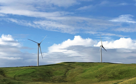 The windfarm is due to be fully operational next year
