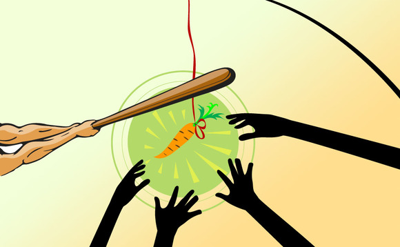 Carrot vs stick: how to encourage people to save