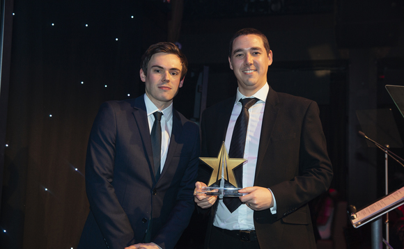 David Rix won administrator of the year at PP's Rising Star Awards