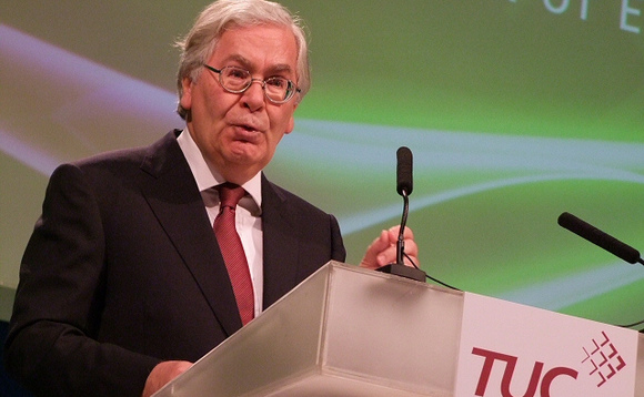 Mervyn King slams pessimism about pensions challenge