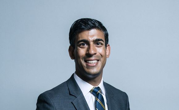 Chancellor of the Exchequer, Rishi Sunak.