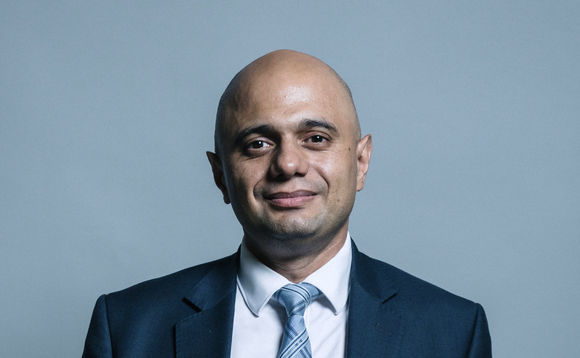 Sajid Javid. Photo: www.parliament.uk