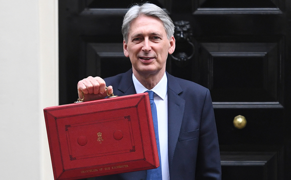 Chancellor Philip Hammond delivers the Autumn Budget 2017
